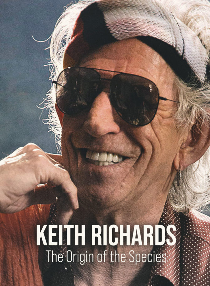 KEITH RICHARDS: THE ORIGIN OF THE SPECIES