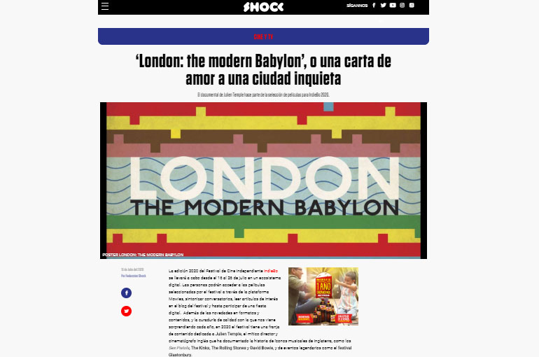 'London: the modern Babylon', o una carta de amor a una ciudad inquieta